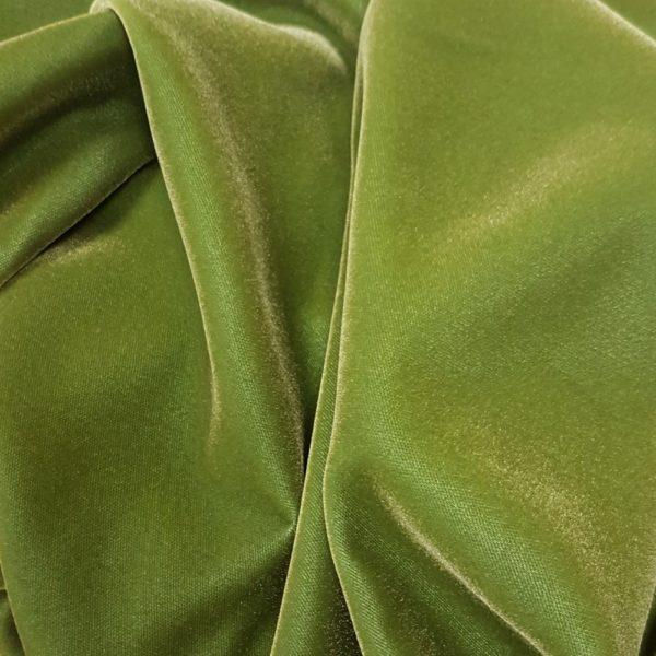 Denholme Velvets Acetate Viscose Plain Velvet 8975 9410P Avocado