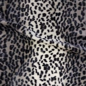 Denholme Velvets Faux Fur Cheetah 20162 9007P GREY