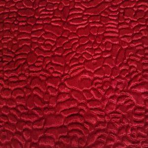 Denholme Velvets Faux Fur Persian Lamb-Astrakan 20012 9359P Boudoir Red