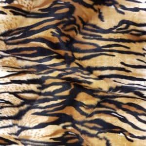 Denholme Velvets Faux Fur Tiger 20206 9366P TIGER