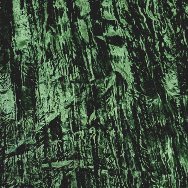 Denholme Velvets Viscose Crushed Velvet 20193 9245P Blue Moss